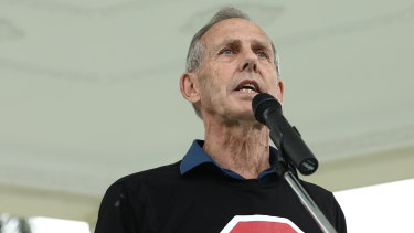 Former leader Bob Brown donated to the Queensland Greens.