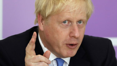 Boris Johnson insists Brexit will happen by October 31 come what may.