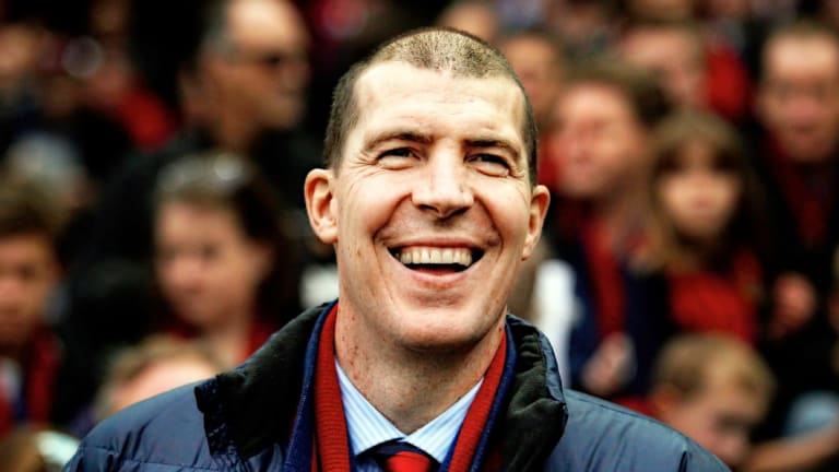 Jim Stynes asked for his club to be looked after.