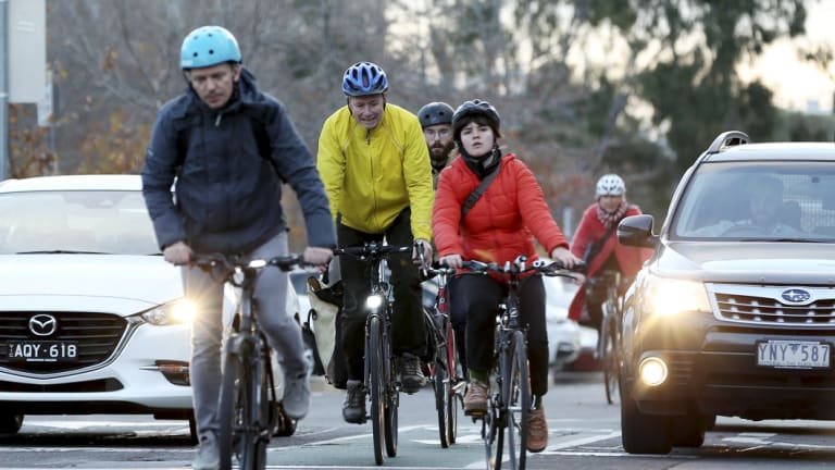 Cyclists want more bike lanes.