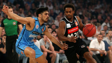 Playmaker: Melbourne's Casper Ware was unusually quiet during the round one loss to New Zealand.
