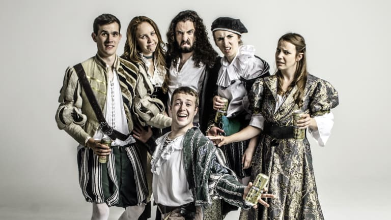 Shit-faced Shakespeare is presenting <i>A Midsummer Night's Dream</i> with a twist.