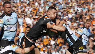 Parramatta are ready to pounce if unsettled Wests Tigers star Ryan Matterson becomes available.