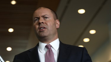 Treasurer Josh Frydenberg confirmed the communications plan to tell workers of the tax cuts if they were legislated this week.