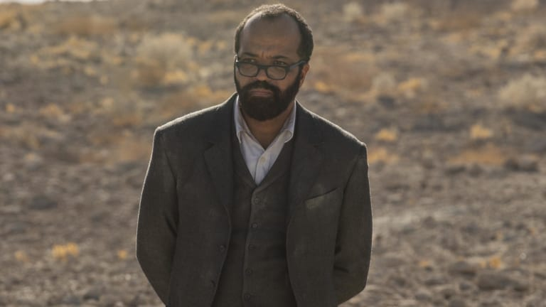 Jeffrey Wright as Bernard Lowe in Westworld.