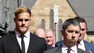 St George Illawarra star Jack de Belin refuses NRL offer to