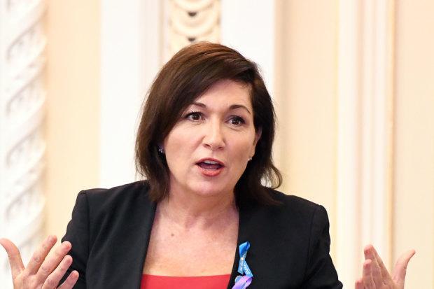 Queensland Environment Minister Leeanne Enoch.