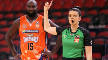 Jacqui Dover is set to join the NBA's trainee referees program.