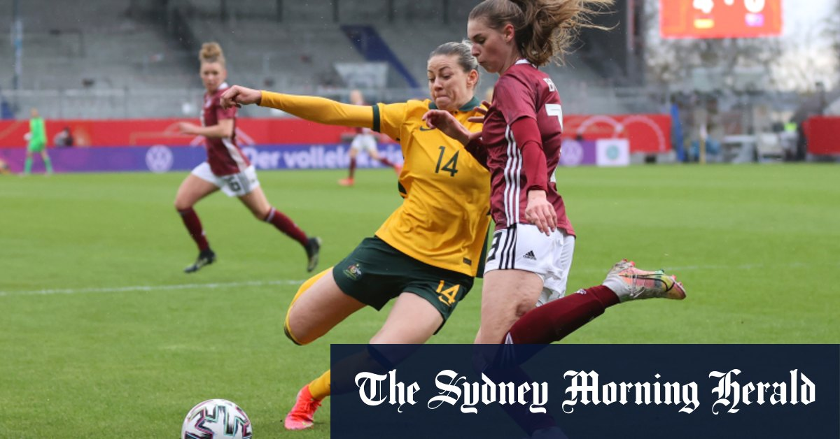 Matildas handed brutal reality check by Olympic champions Germany – Sydney Morning Herald