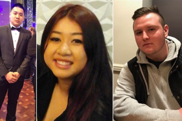 Joshua Tam, Nathan Tran and Diana Nguyen died after attending music festivals in NSW.