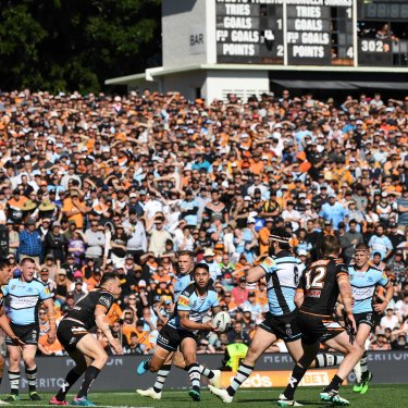Leichhardt Oval is one of the Tigers' home grounds in urgent need of an upgrade.