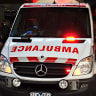 Paramedic in hospital after being 'punched in the face' by patient