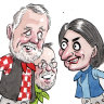 Blunt advice for unlikely upper house pair