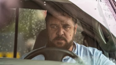 Russell Crowe is simply know as The Man in his new film about road rage, Unhinged.
