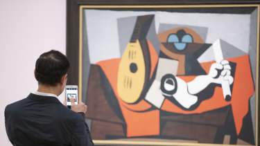 A visitor to the NGA's Matisse & Picasso blockbuster records his impressions.