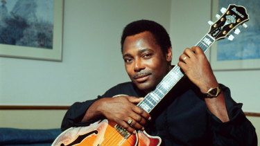 George Benson in 2001: ''I had decent ears for simple music. Nothing sophisticated.''