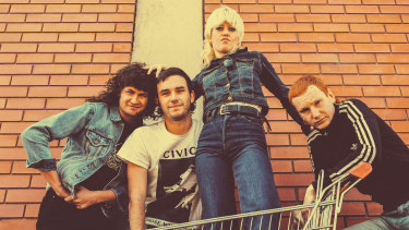 Amyl and the Sniffers have just returned from their third overseas tour.