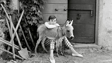 Audrey adopted Bimbaw while she was filming War and Peace in Italy.
