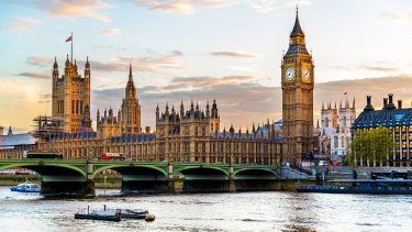 The Palace of Westminster hasn't had any major work in the years since it was renovated following WWII bomb damage.