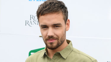 Liam Payne at the Everest.