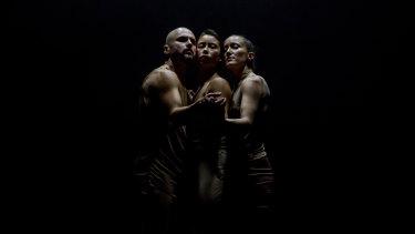 Gregory Lorenzutti, Lilian Steiner and Melanie Lane in Nightdance.