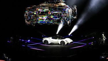 The launch of the new Maserati MC20.