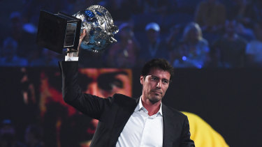 The 2005 Australian Open champion.