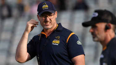 Win-win: Brumbies coach Dan McKellar may not have to choose club over country after all.