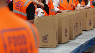 Foodbank Australia has been inundated with requests.