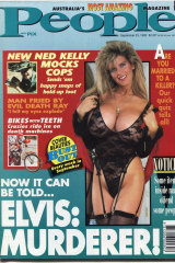 The cover of Australian People Magazine in September 1992.