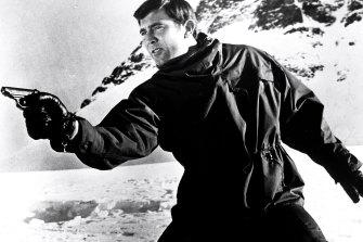 George Lazenby in a still from the James Bond movie 'On Her Majesty's Secret Service'