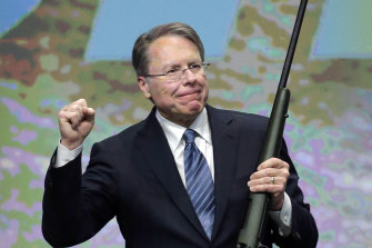 Wayne LaPierre, executive vice-president of the National Rifle Association.