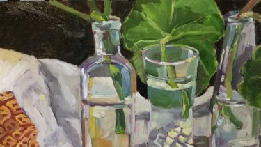 Alison Mackay, <i>Bottles and Stems</i> in <i>GLASS Works</i> at Form.