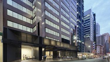 WeWork's tenth Sydney location at 320 Pitt Street.