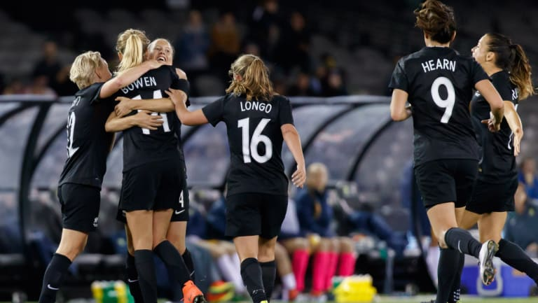 Equality: New Zealand's soccer players signed a new collective bargaining agreement this week.