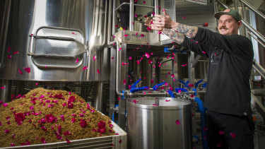 Capital Brewing Co head brewer, Wade Hurley is a romantic at heart.