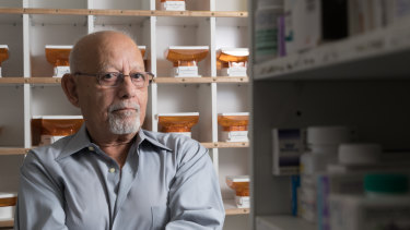 """I love this country"": Morris Morcos moved from Egypt to become a pharmacist in Australia and has served the community for more than 40 years."