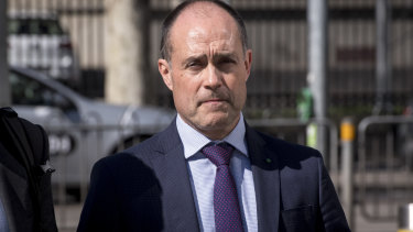 Vodafone Australia chief executive Inaki Berroeta at the Federal Court on Wednesday.