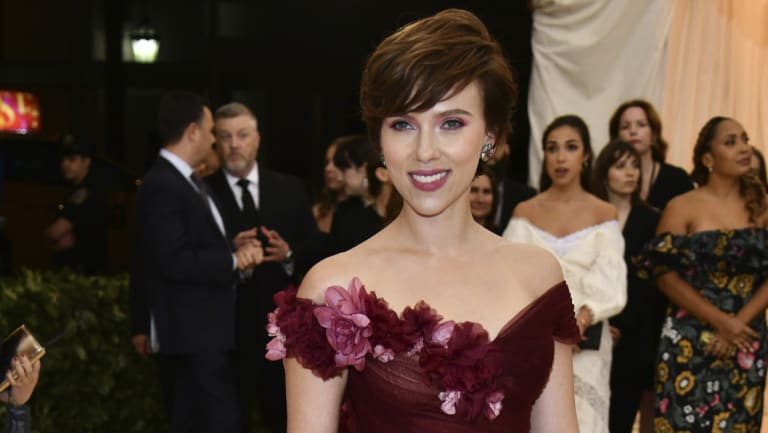 Actress Scarlett Johansson is at the centre of another casting scandal.