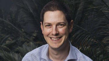 Associate Professor Alex Menzie from Melanoma Institute Australia.