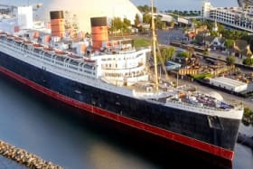 One of the world's most glamorous ships hasn't moved for 50 years