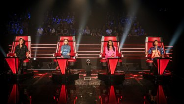 A tweaked format has seen Seven recapture ratings success with The Voice.