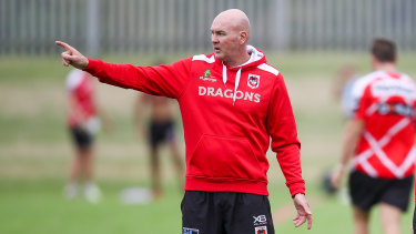 Staying: Dragons coach Paul McGregor.