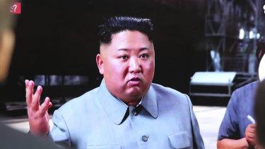 North Korea's Kim Jong-un.