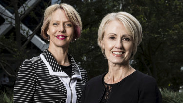 Melinda Howes and Vanessa Paterson will be empowering women to take control of their finances at Sunday's All About Women festival.