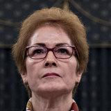 Former US ambassador to Ukraine Marie Yovanovitch.