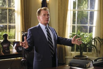 In The West Wing, Martin Sheen played  US president Jed Bartlett.