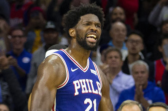 Joel Embiid was back in form after a scoreless perforamnce during his last outing.