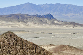 Furnace Creek in Death Valley hit 54.4 degrees on Sunday.
