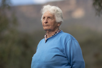 Sharyn Halls, a Gundungurra elder, on land at Burnt Flat near Lake Burragorang that would be inundated by floodwater if the Warragamba Dam wall was raised.